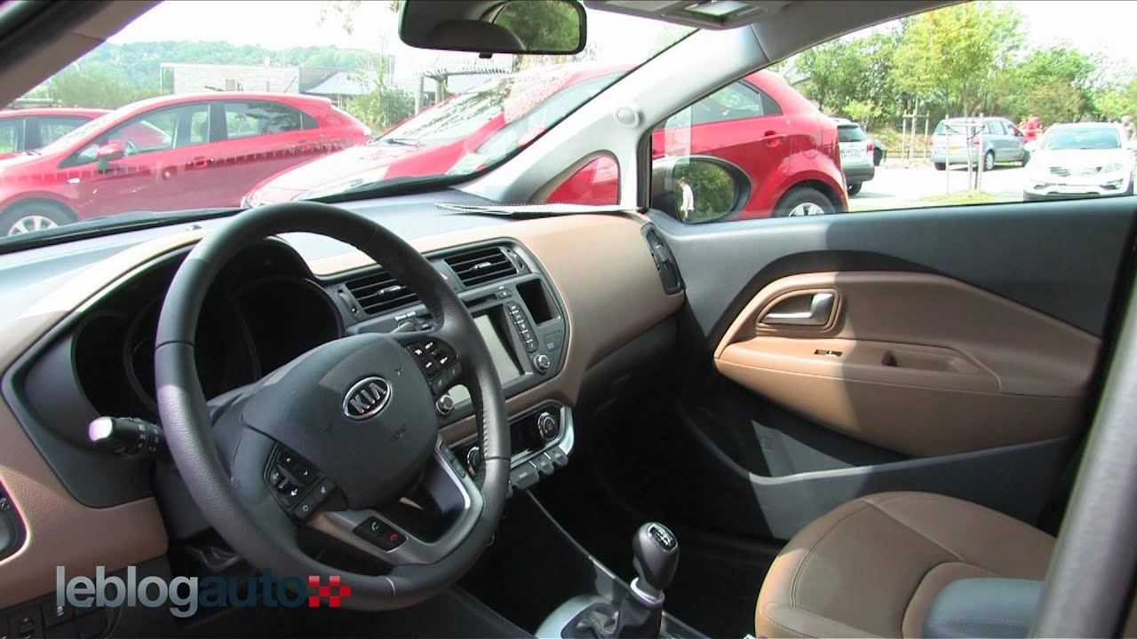 nouvelle kia rio ii test 2011 youtube. Black Bedroom Furniture Sets. Home Design Ideas