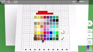 GAMEPLAY:ROBLOX Pixel Art Creator Disegno / dibujando Mario Bros
