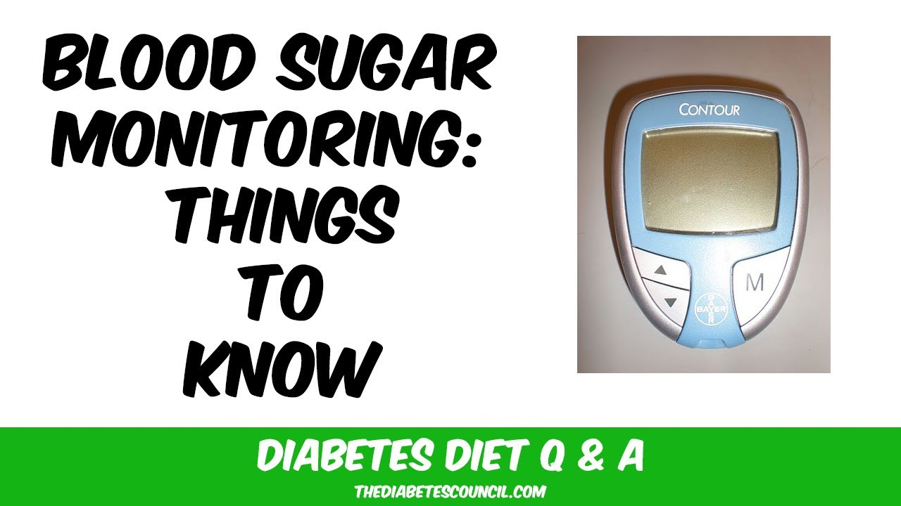 What You Need to Know About Checking Your Blood Glucose