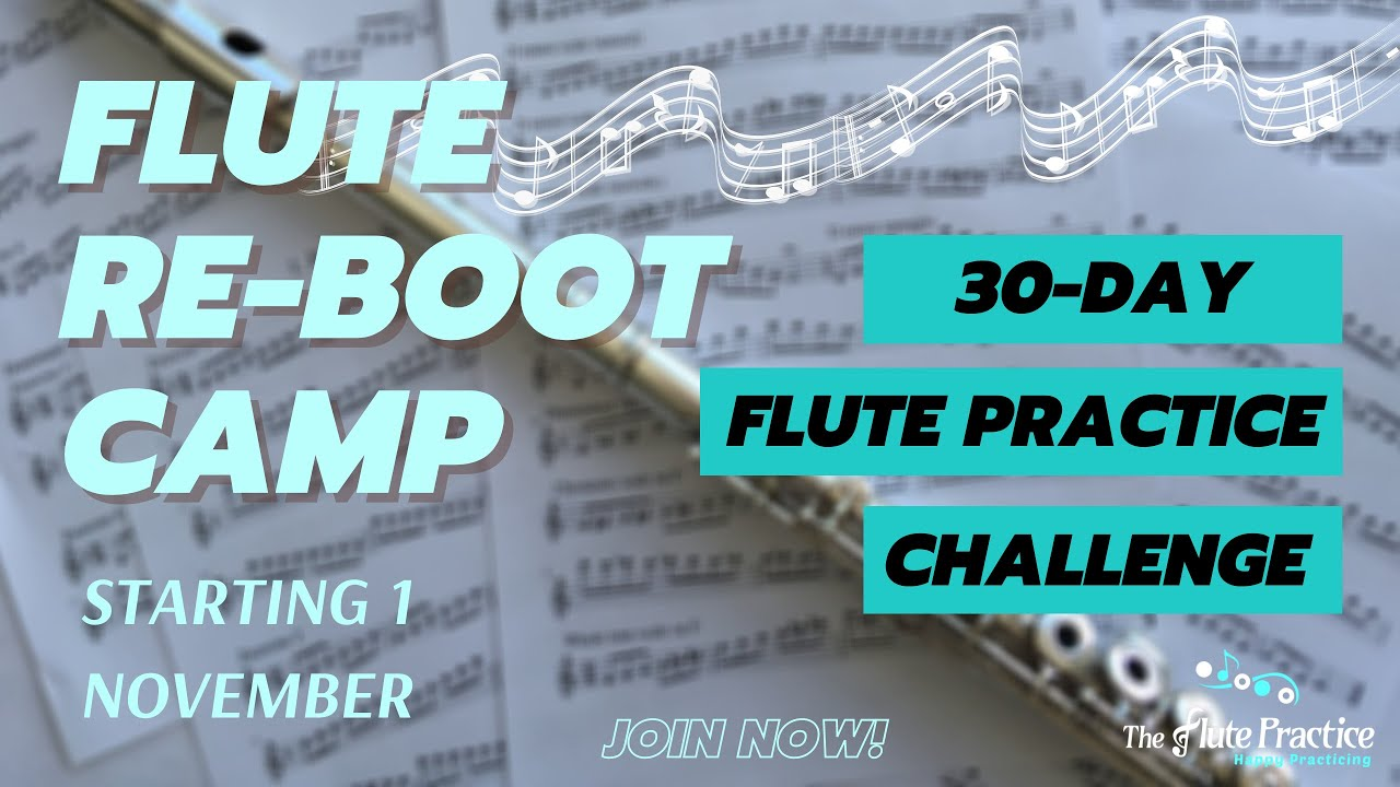 Flute REBOOT camp announcement