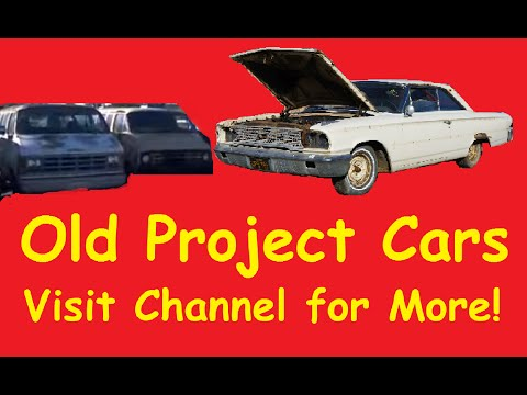 Classic Barn Find Project Cars For Sale Car Classics