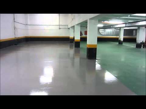 Pavimento Continuo Rehabilitación Parking Wasserpox