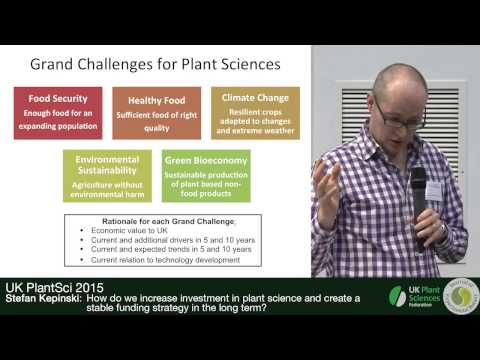 Building a roadmap for UK plant science