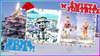 HOW WILL THE HOLIDAYS IN FORTNITE LOOK LIKE?! NEW MAP FOR SEASON 7! NEW SKINS! | Fortnite Battle Royale