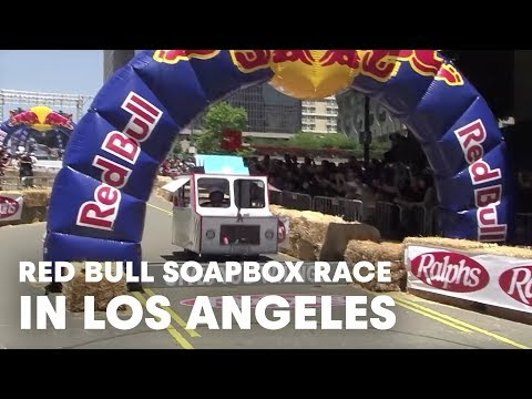 Red Bull Soap Box Derby >> Red Bull SoapBox Race - Los Angeles 2011 - YouTube