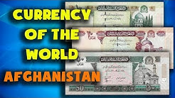 Currency of the world - Afghanistan. Afghan afghani. Exchange rates Afghanistan. Afghan banknotes