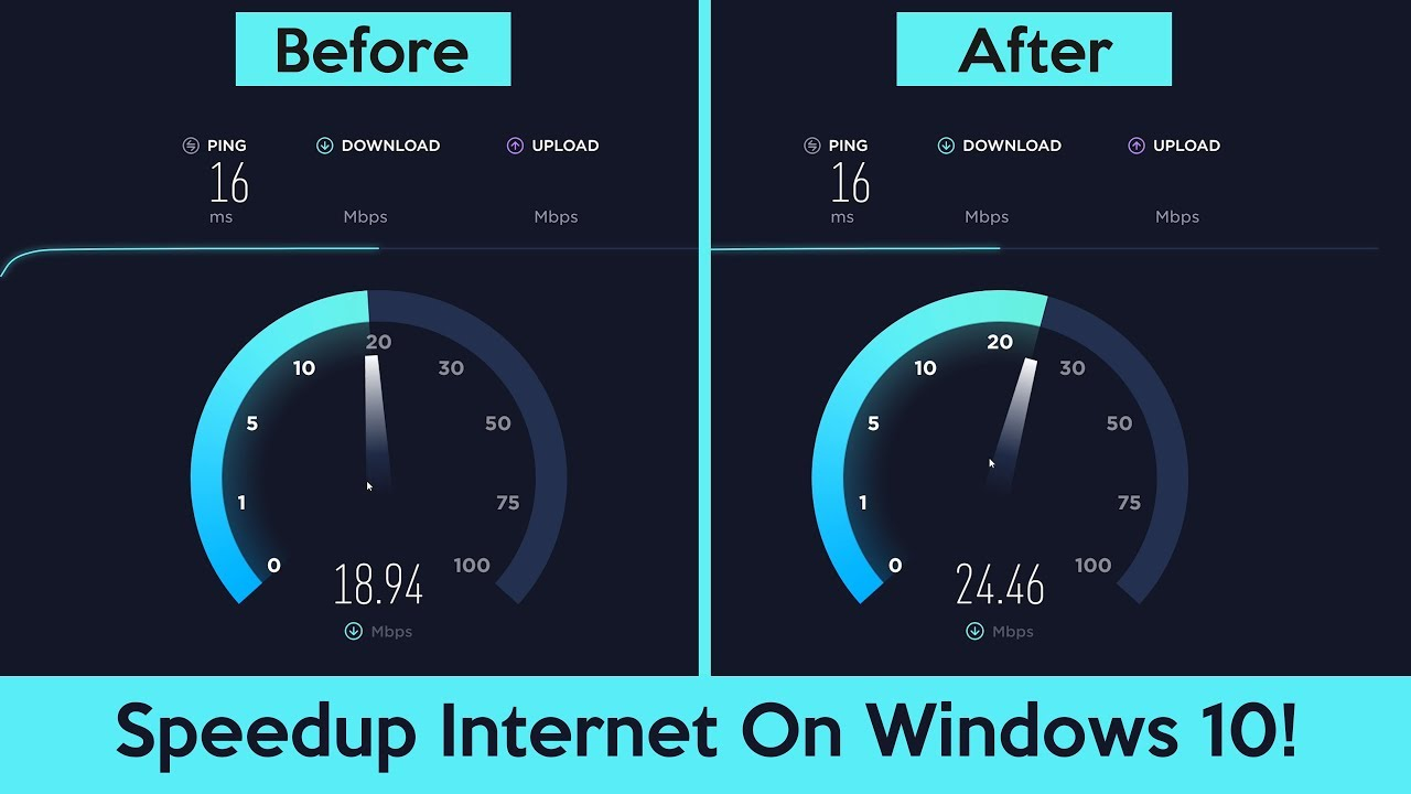 how to know the internet connection speed of your computer
