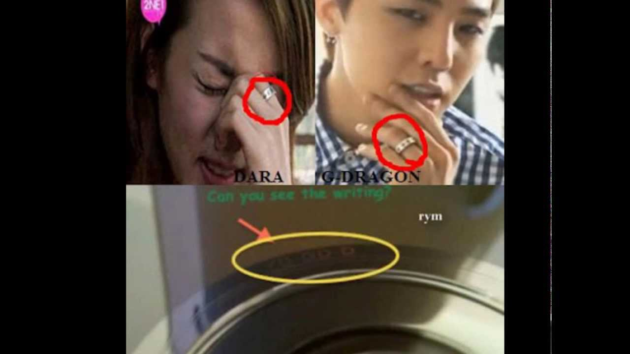 BREAKING GDragon spotted protecting and kissing Sandara