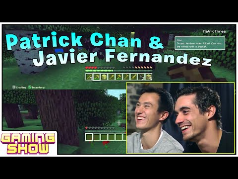 Celebrity Let's Play - Patrick Chan Reviews Minecraft