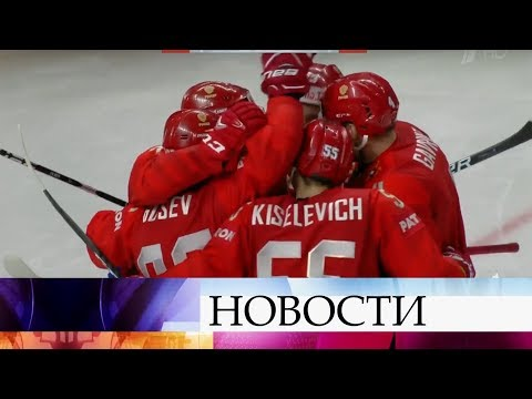 Матч Россия - Словакия в рамках чемпионата мира по хоккею покажет Первый канал.