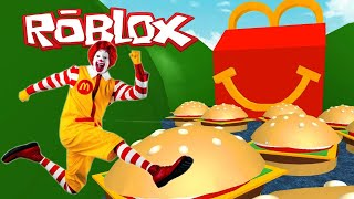 ROBLOX Escape McDonalds Obby By SunWorks
