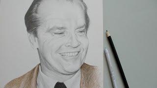 Drawing Jack Nicholson