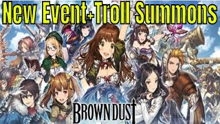Brown Dust New Summon Event and Characters Most troll summon ever