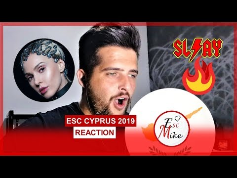 Eurovision Cyprus 2019 - REACTION [Tamta - REPLAY]