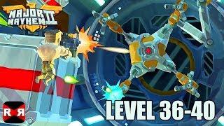 Major Mayhem 2 - Level 36-40 - iOS / Android Walkthrough Gameplay