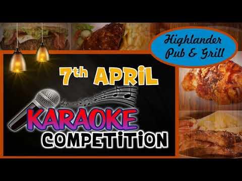 Highlander Karaoke Comp Jan 18