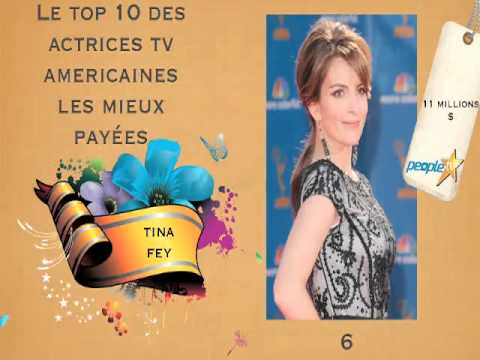 top 10 des actrices tv americaine les mieux pay es youtube. Black Bedroom Furniture Sets. Home Design Ideas