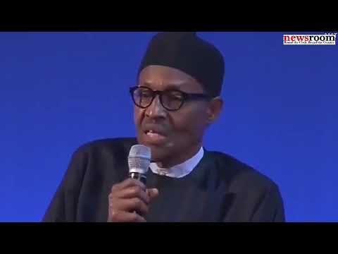 President Buhari calls Nigerian youths lazy and uneducated