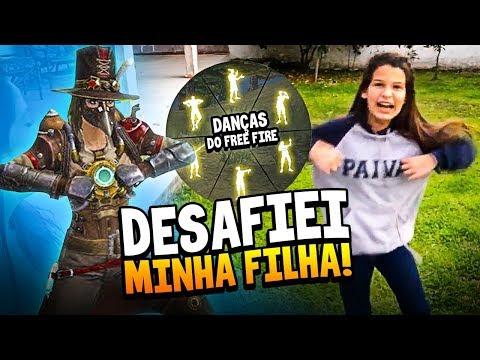 DANÇAS DO FREE FIRE NA VIDA REAL!!