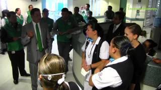 Recorrido en Centro Médico Lic. Adolfo López Mateos,13 de Agosto.