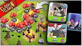 """ONLY SKELETONS/DEAD GUYS!"" MASS SKELETON ARMY in CLASH OF CLANS"