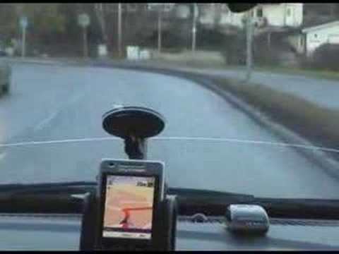 Sony Ericsson P1i Wayfinder DEMO