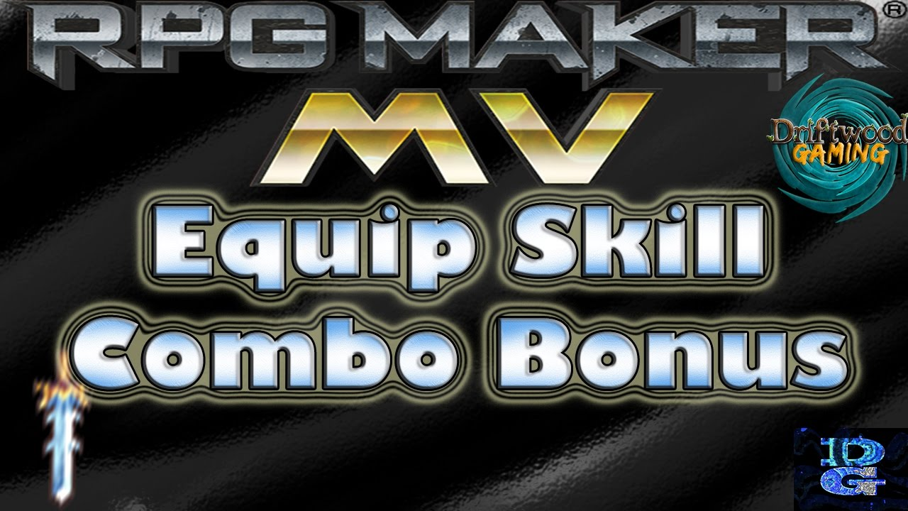 RPG Maker MV Equip Skil Combo Bonus Tips & Tricks Tutorial