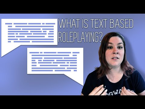 What Is Text Based Roleplaying