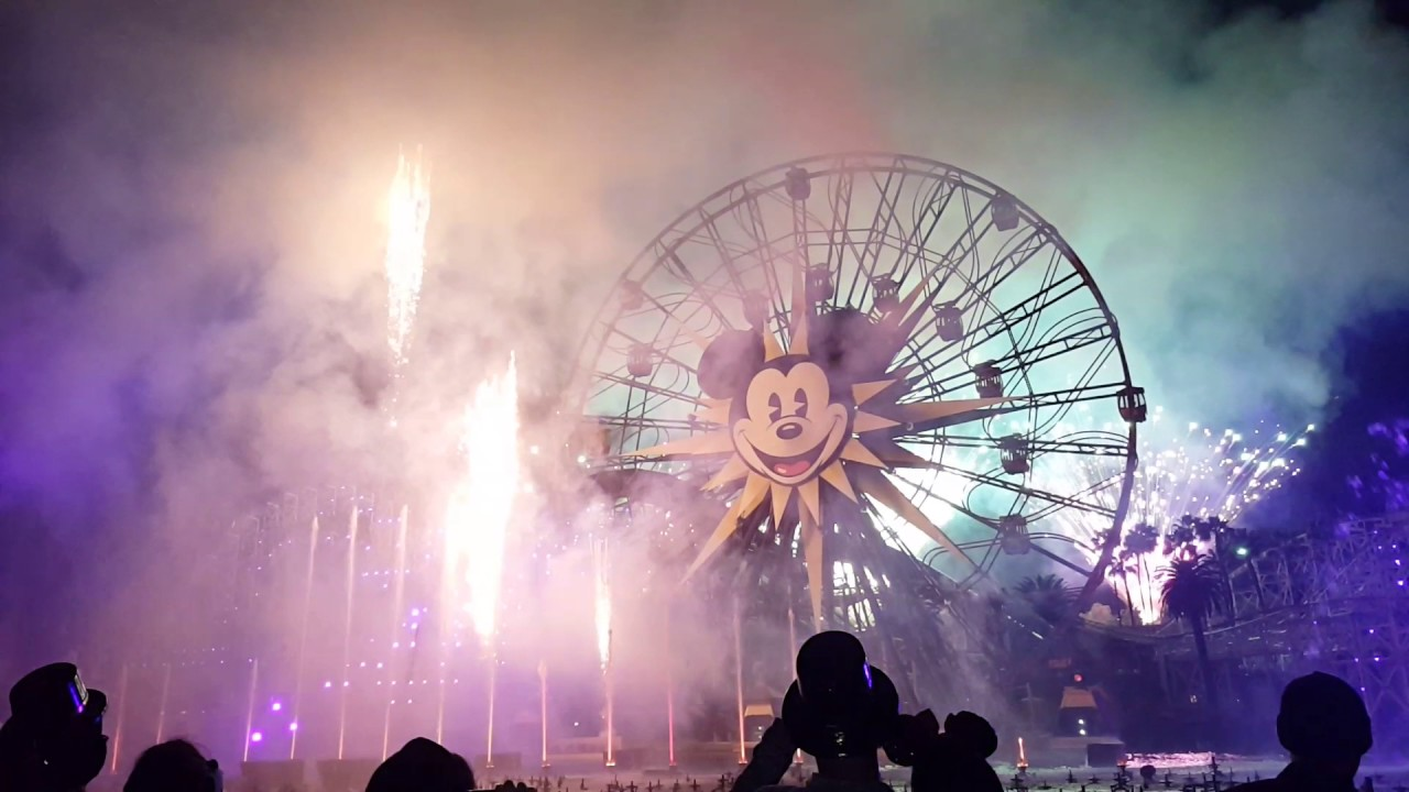 New Years Eve Disneyland