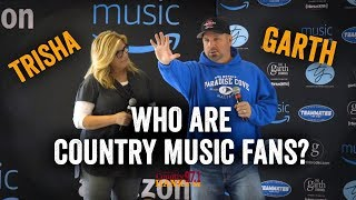 Garth Brooks & Trisha Yearwood Answer - Who are Country Music Fans? -