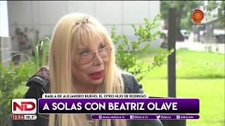 ¿Otro hijo de Rodrigo? Habla Beatriz Olave, la palabra más buscada