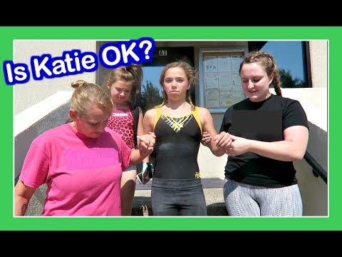 GYMNASTICS CAN BE  DANGEROUS | Flippin' Katie