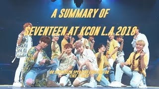 Video a summary of seventeen at kcon download MP3, 3GP, MP4, WEBM, AVI, FLV Agustus 2018