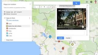 GEG Bolivia: Google Maps & Fusion Tables Free HD Video