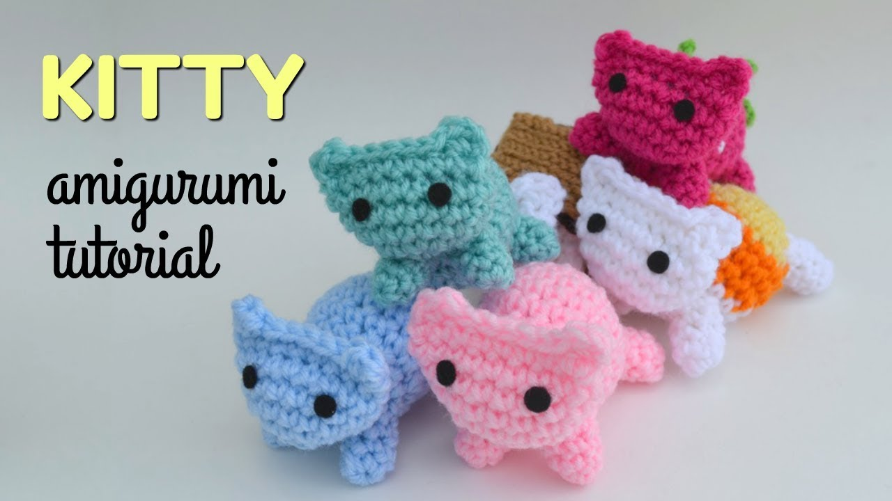 Cat Amigurumi Tutorial Beginner Crochet Kitty Mod Free Pattern