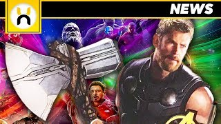 Thor's New Weapon LEAKED First Look | Avengers Infinity War