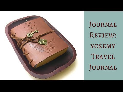 Yosemy Travel Journal Notebook: How I Use & Review