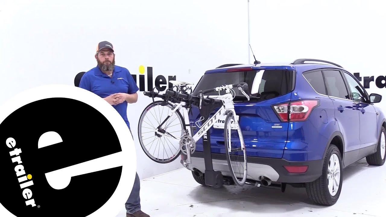 Etrailer Thule Hitch Bike Racks Review 2017 Ford Escape Youtube
