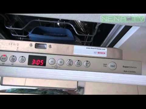 Посудомойка Bosch SPV 58M50RU.. Обзор. Котлас
