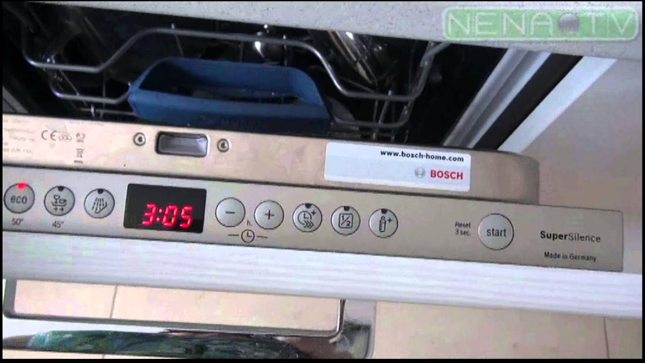 Всё, что нужно знать о соли для посудомоечной машины. - YouTube