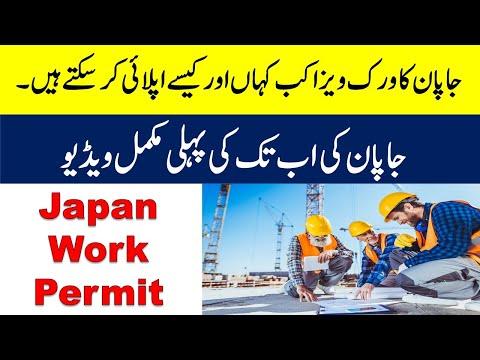 Where You Can Apply Japan Free Work Visa For Pakistani Japan Free Skill Visa