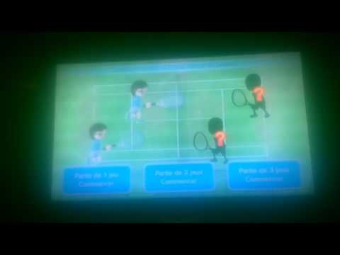 Cricri cute Wii Sport Club: RAGE AU TENNIS!!!