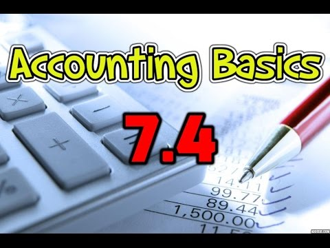 Accounting Basics 7.4: Sale of Capital Assets