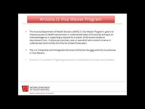 Arizona J-1 Visa Waiver Program Stakeholders Meeting - Nov.4. 2016
