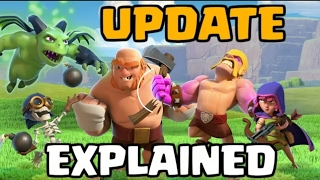 Review discussion of the latest update in clash of clans