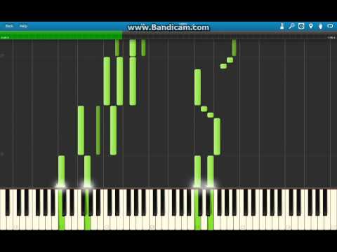 Pokemon X & Y - Route 8 Music Piano Arrangement (Synthesia)