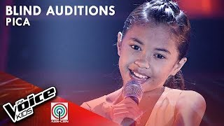 Hanggang May Kailanman by Pica Mabitag | The Voice Kids Philippines Blind Auditions 2019