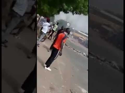 Violentes manifestations à Koumpentoup conte la pénurie d'eau