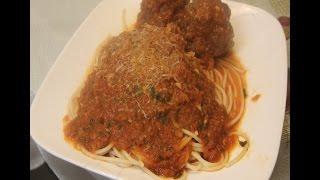 Best Homemade Spaghetti And Meatball Recipe