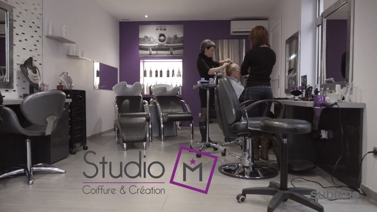 Salon De Coiffure Why Not Niort Studio M Coiffure And Création Albertville Youtube